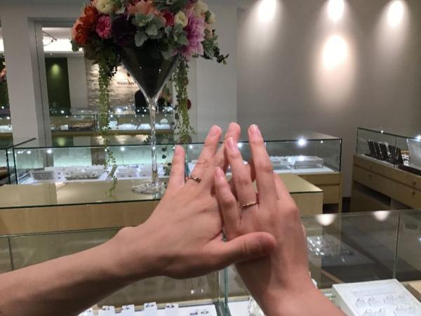 姫路市「Preuve」のマリッジリングをご成約頂きました。