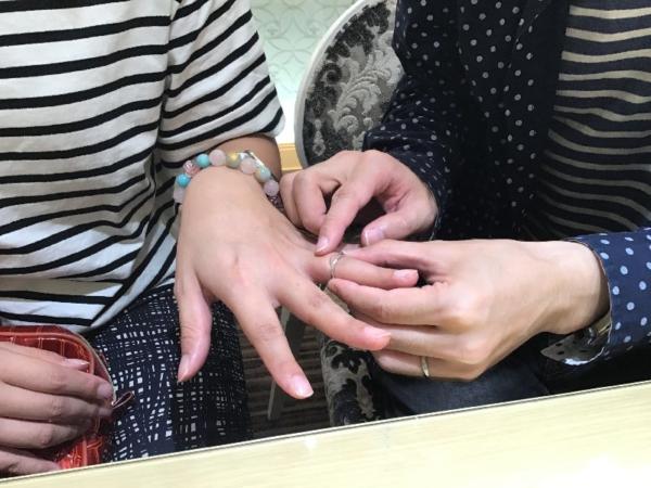 イロノハの結婚指輪をご成約頂きました。