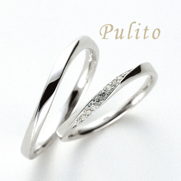 結婚指輪,プリート,マリッジリング