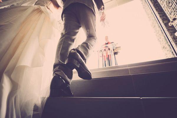 チャペルでプロポーズ