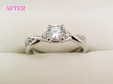 姫路市ジュエリーリフォーム,エンゲージリング,婚約指輪