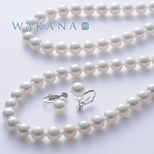 パールネックレス|真珠ネックレス|イヤリング|WAKANA