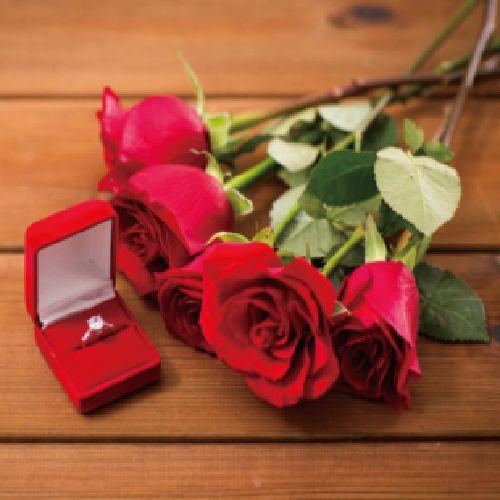 プロポーズ男性必見の婚約指輪選び方