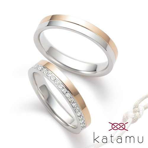 katamuの鍛造製法 結婚指輪