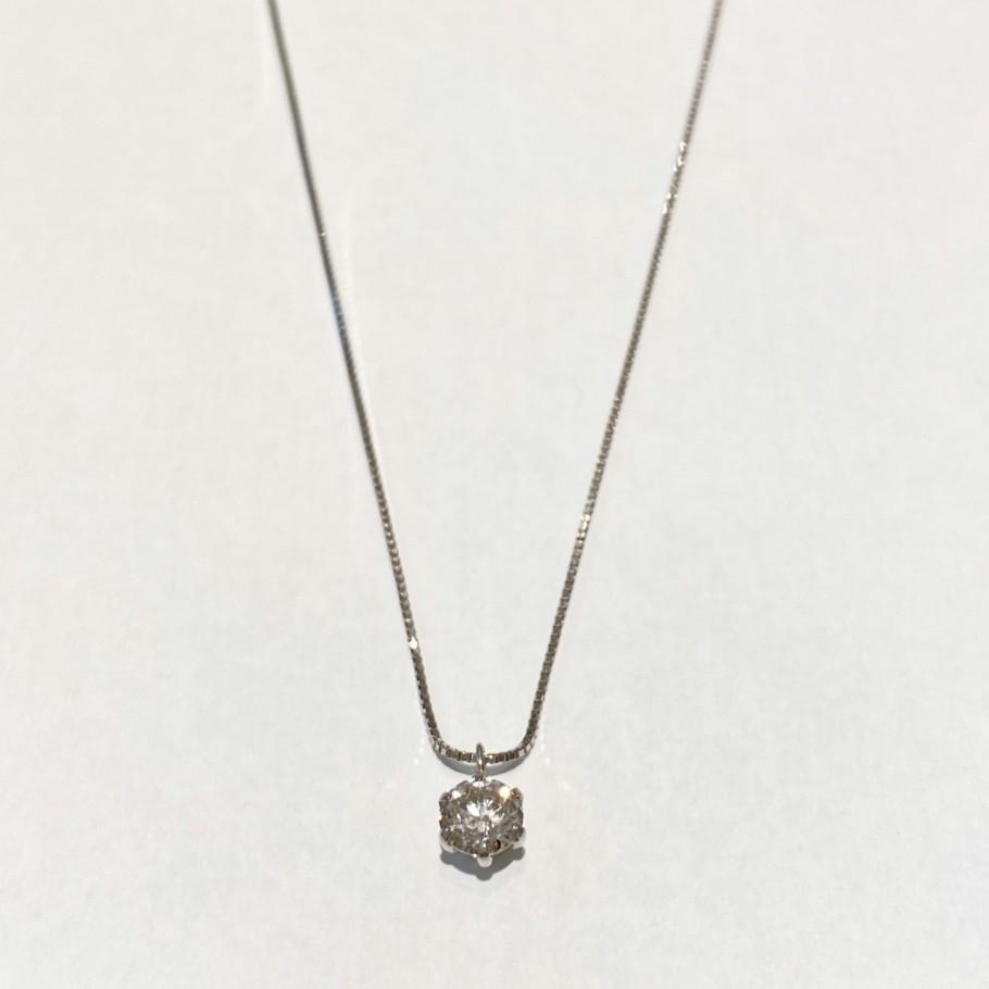 ダイヤモンドネックレス0.3ct