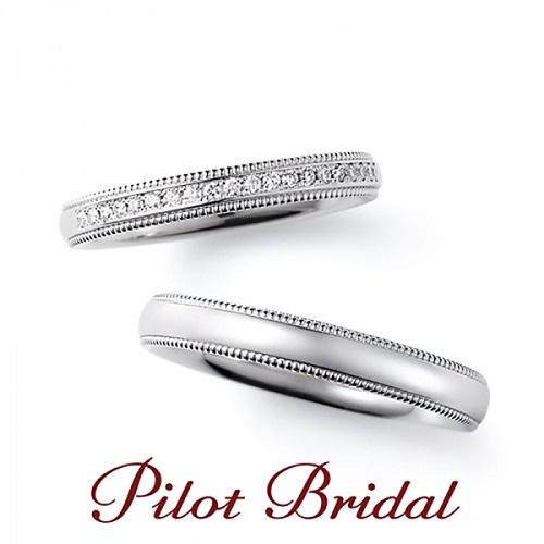 Pilot Braidalの鍛造製法 結婚指輪