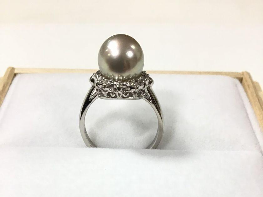 パールの指輪サイズ直し