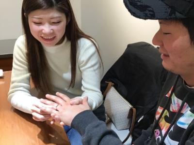 姫路市「RosettE」の結婚指輪をご成約頂きました。