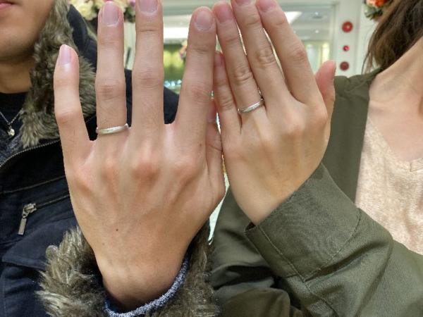 PilotBridalの結婚指輪をご成約頂きました。
