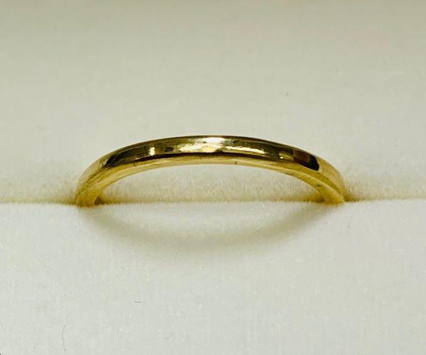 姫路の手作り結婚指輪幅1.5㎜イメージ
