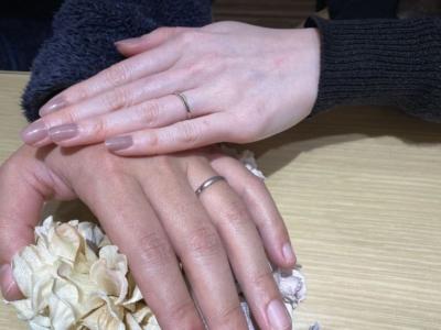 たつの市「Passage」「Quand de Mariage」の結婚指輪をご成約頂きました。