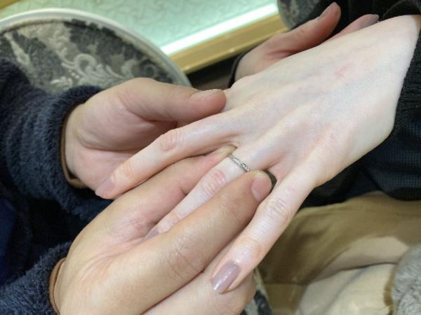 Passageの結婚指輪をご成約
