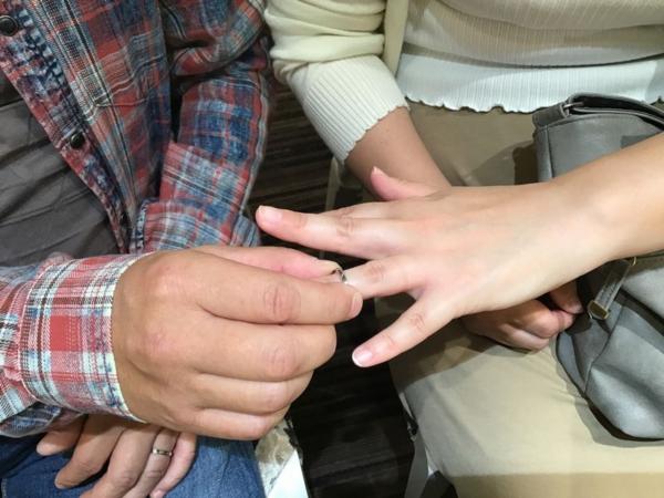 Pulitoの結婚指輪をご成約頂きました。