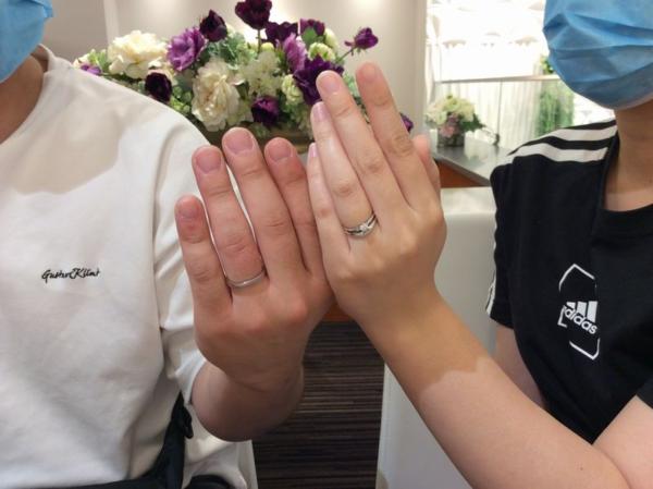 姫路市「Mariage ent」の結婚指輪をご成約頂きました。