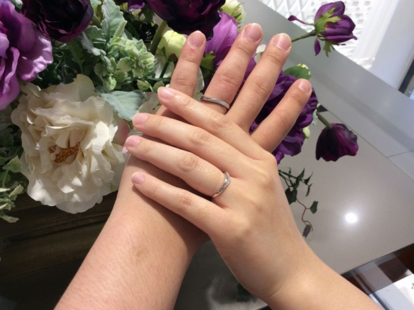 mariage entの結婚指輪