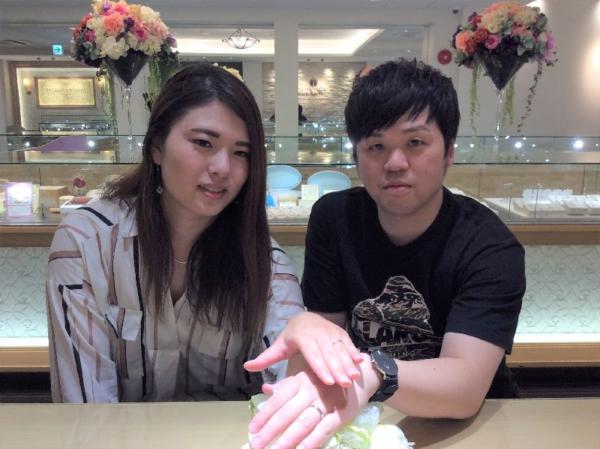 姫路市「Beauty AND THE BEAST」の結婚指輪をご成約頂きました。