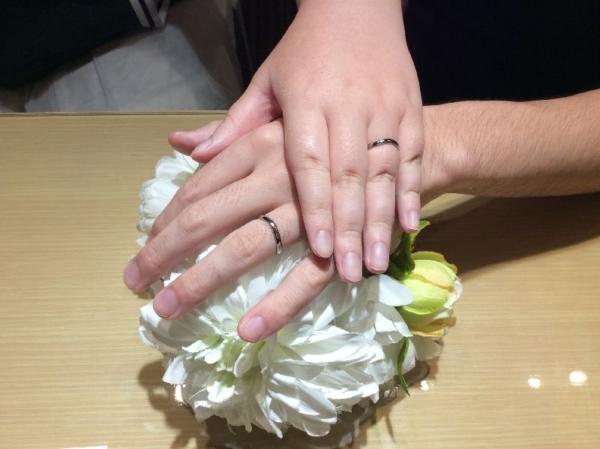 姫路市「輝彩」の結婚指輪をご成約頂きました。