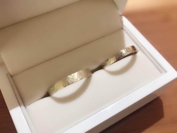 手作り結婚指輪お客様体験談3