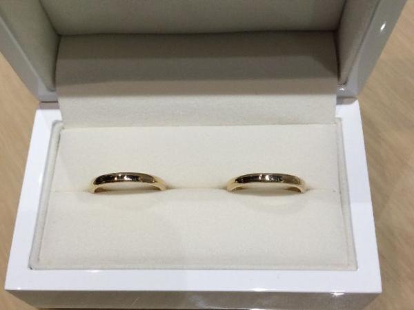 手作り結婚指輪お客様体験談4