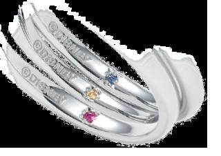 美女と野獣の婚約指輪と結婚指輪 ディズニー