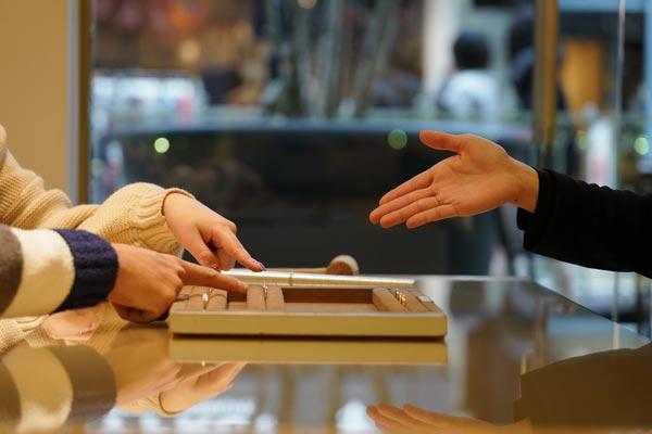 姫路の手作り結婚指輪素材選び