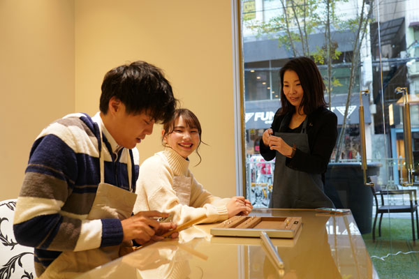 姫路で手作り結婚指輪作製