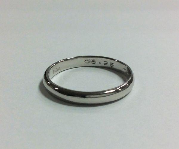 姫路の手作り結婚指輪|鏡面仕上げイメージ