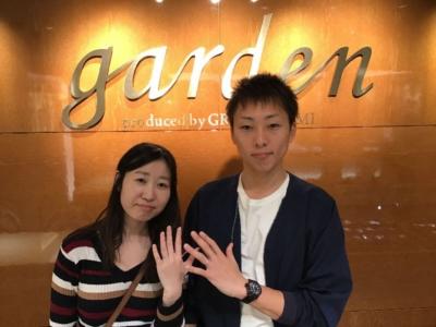 加東市「RosettE」「et.lu」の結婚指輪をご成約頂きました。