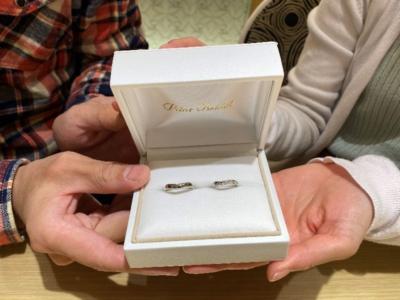 姫路市 Pilot Bridalの結婚指輪をご成約頂きました。
