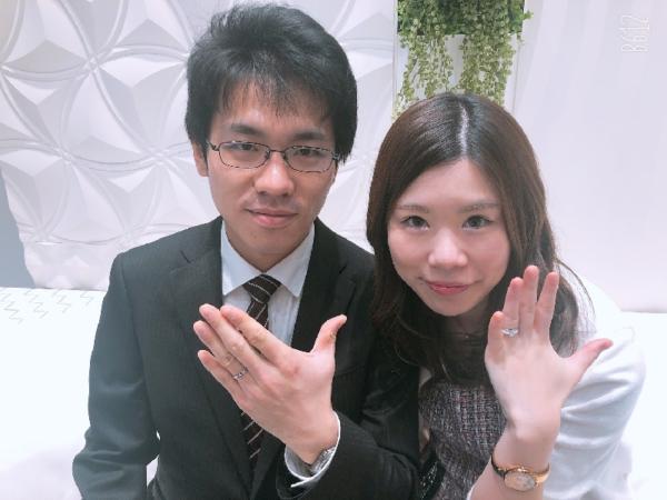 姫路市「PilotBridal」の結婚指輪をご成約頂きました。