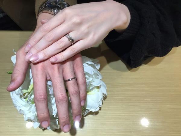 豊岡市「Twins Cupid」の結婚指輪をご成約頂きました。