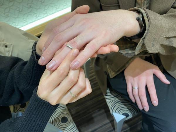 イロノハの結婚指輪をご成約