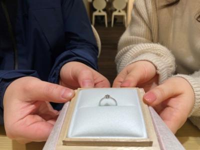 姫路市「Little Garden」の婚約指輪をご成約頂きました。
