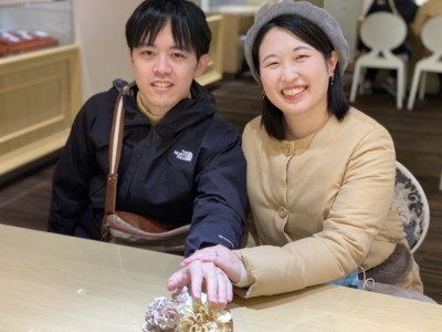 姫路市「FISCHER」の結婚指輪をご成約頂きました。
