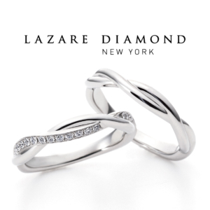 LAZARE DIAMOND 婚約指輪のセンターダイヤグレードアップ!!