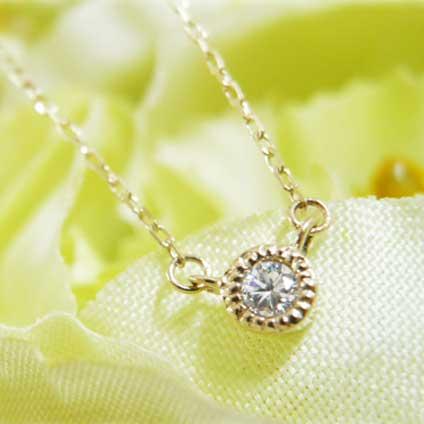 gardenフェスタ姫路|じゃんけんでもらえるK10YGダイヤモンドネックレス