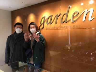 加東市「FISCHER」の結婚指輪をご成約頂きました。