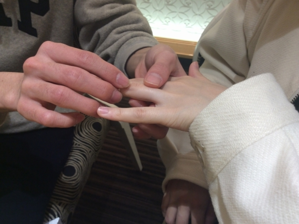 RosettEの結婚指輪