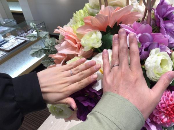 エトルの結婚指輪をご成約。