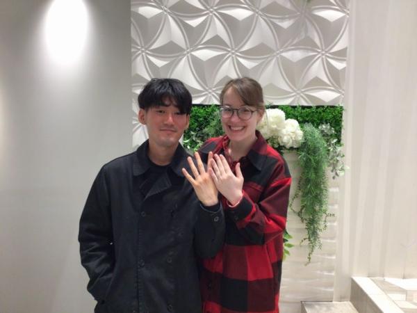 姫路市「So」の結婚指輪をご成約頂きました。