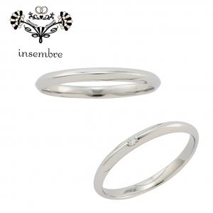10万円で揃う結婚指輪のブランドインセンブレINS02