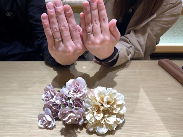 兵庫県姫路市「Katamu」の結婚指輪をご成約頂きました。