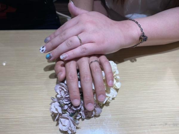 RosettEの結婚指輪をご成約頂きました。