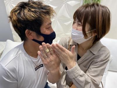 兵庫県たつの市「insembre」「AMOUR AMULET」の結婚指輪をご成約頂きました。