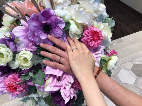 gardenオリジナルの婚約指輪をご成約