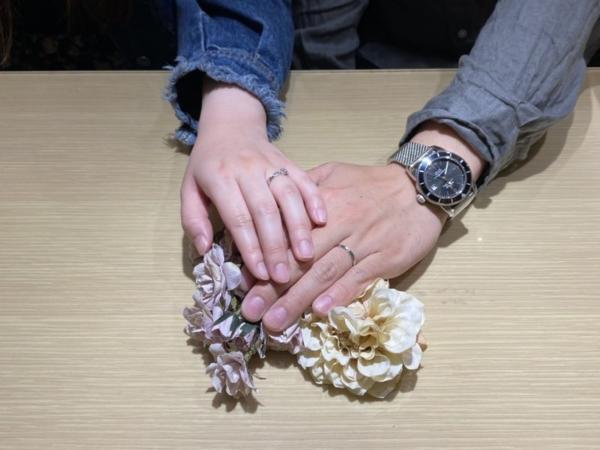 兵庫県小野市「RosettE/SP」の結婚指輪をご成約頂きました。