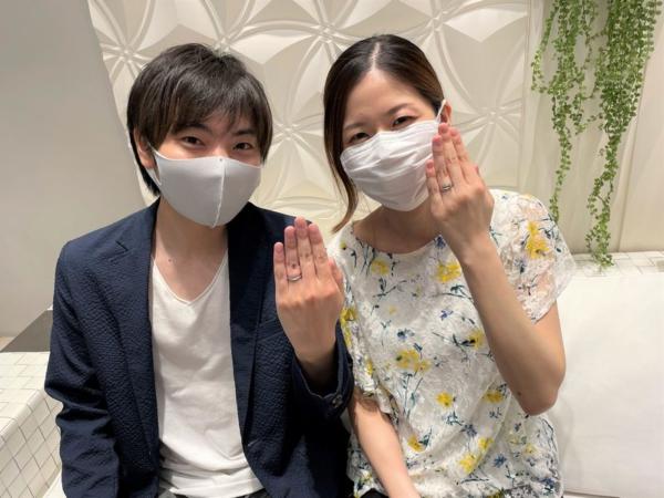 兵庫県姫路市「Quand de Mariage」の結婚指輪をご成約頂きました。