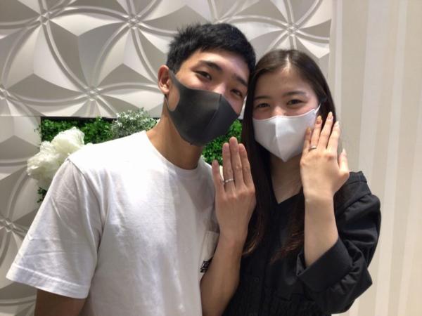 GRACEKAMA【婚約指輪】Disney Cinderella【結婚指輪】
