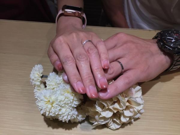 Quand de Mariageの結婚指輪をご成約頂きました。