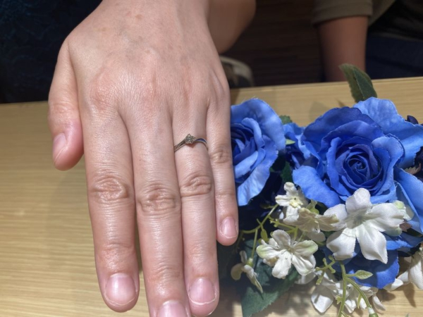 IDEAL pulufortの婚約指輪をご成約頂きました。